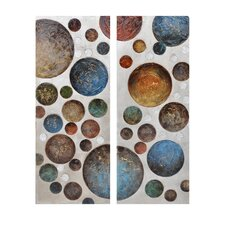 Flammarion Canvas Wall Art (Set of 2)