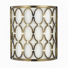 Candice Olson Cosmo 2 Light Wall Sconce