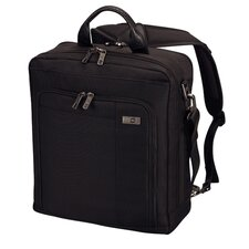 "Architecture® 3.0 Acropolis 15.6"" Three Way Carry Laptop Backpack in Black"