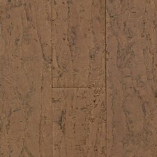"Natural Cork New Earth Allegro 4-1/8"" Engineered Locking Cork Flooring in Barro"