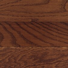 "Congress 2-1/4"" Solid Hardwood White Oak Flooring in Burgundy"