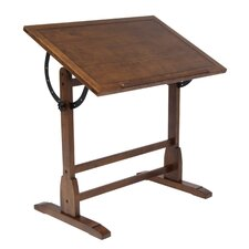 Vintage Wood Drafting Table