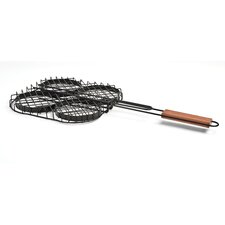 Non-Stick Hamburger Grilling Basket