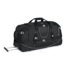 "A.T Gear Ultimate Access 36"" 2-Wheeled Drop Bottom Travel Duffel with Backpack Straps"
