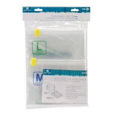 Pack-It Clear 2 Piece Compressor Sack Set (M/L)