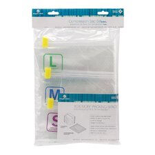 Pack-It Clear 3 Piece Compressor Sack Set (S/M/L)