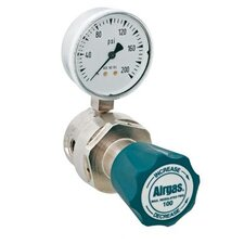 - 100 PSI Delivery General Purpose Single Stage Brass Regulator With 1200 PSI Maximum Rated Inlet Pressure