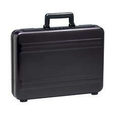 "Premier 3"" Attache in Polished Black"