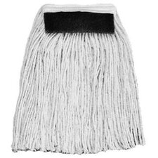 "24 Ounce Stinger 4-Ply Coton 1.25"" Natural Mop Head"