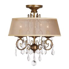 Belle Marie 3 Light Chandelier