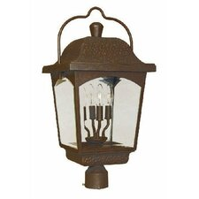 Ayrs 4 Light Outdoor Post Lantern