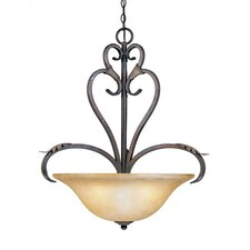Olympus Tradition 4 Light Inverted Pendant