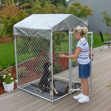 Lucky Dog Chainlink Kennel Kit in a Box
