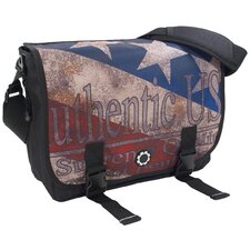 Graphic Design Messenger Diaper Bag