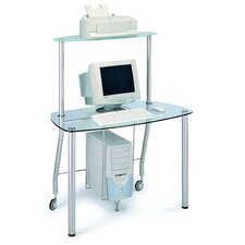 Protable Computer Desk with Top Shelf