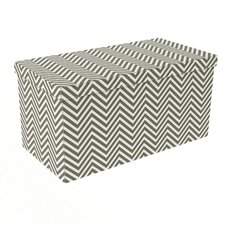 Chevron Ottoman (Set of 2)