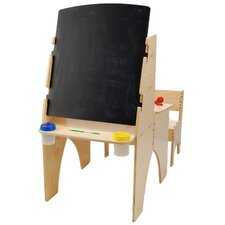 Easel Desk Combo with Bench