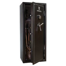 0.67 Hr Fortress Electronic Lock 18 Gun Fire Safe 11.6 CuFt