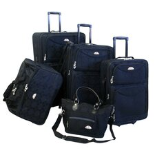 Argyle 5 Piece Luggage Set