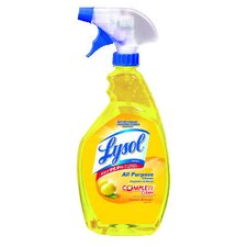 1 Qt. Trigger Spray Bottle Lemon Scent All-Purpose Cleaner (12 bottles)