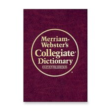 "Collegiate Dictionary,11th Edition,1664 Pgs,7-1/4""x9-7/8"",BY"