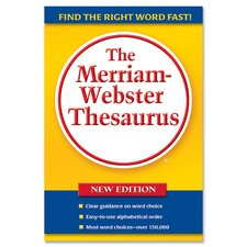 "Thesaurus, 5-3/4""x8-1/2"", Paperback, 688 Pages"