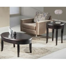 Transitional Coffee Table Set
