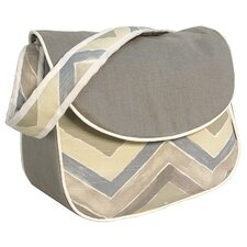 Chevron Messenger Diaper Bag