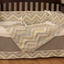 Chevron Crib Blanket