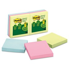 Greener Notes Recycled Pop-Up Refill Pad (Set of 6)