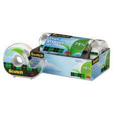 "0.75"" x 600"" Magic Greener Tape with Refillable Dispenser (Pack of 6)"