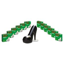 "0.75"" x 1000"" Magic Tape with Shoe Dispenser (Set of 13)"