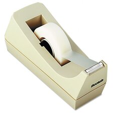 "Desktop Tape Dispenser, 1"" Core, Weighted Non-Skid Base"