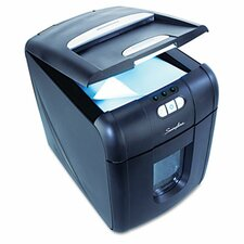 Stack-and-Shred 100X Cross-Cut Shredder, 100 Sheets