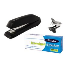 Economy Stapler Pack with Staples and Remover