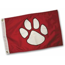 Paw Print Traditional Flag