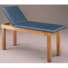 First Aid Treatment Table with Adjustable Backrest