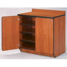 "Illusions 30"" H Base Cabinet with Doors/Shelves"