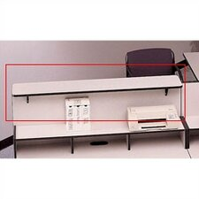 "Solutions Patron 1"" H x 36""-96"" W Desk Ledge"
