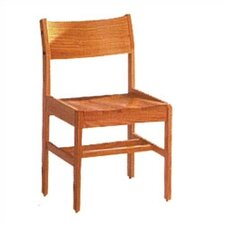 "Library 18"" Wood Classroom Glides Chair"