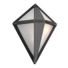 Aeros 1 Light Outdoor Wall Sconce