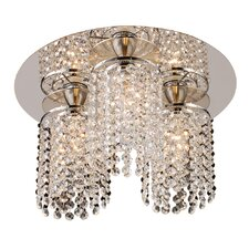 Rigga 3 Light Semi-Flush Mount