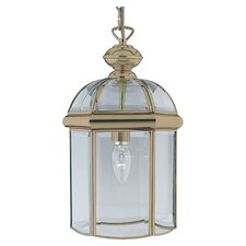 Lantern 1 Light Foyer Pendant