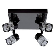 Square Blocs 4 Light Ceiling Spotlight
