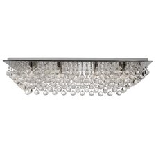Hanna 8 Light Semi Flush Mount