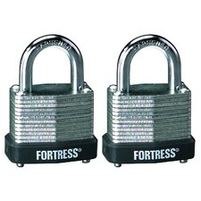 Laminated Steel Padlock (Set of 2)