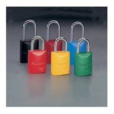 "1 31/32"" High Body High-Visibility Aluminum Padlock - Keyed Differently With 1 1/16"" Shackle (Replaced By M196835ORJ)"