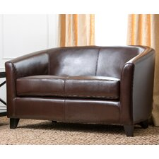 Montecito Leather Loveseat