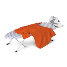 Folding Table Top/Counter Top Ironing Board in White