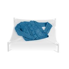 Folding Sweater Dryer in White Mesh